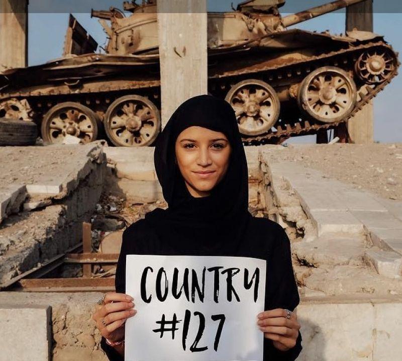 Aos 21 anos, a americana Lexie se tornou a pessoa mais jovem da história a conhecer todo o mundo