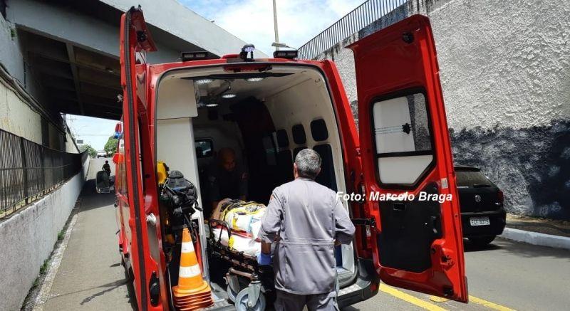 A vítima, com vários ferimentos e fraturas, chegou a ser socorrida, mas morreu no HC