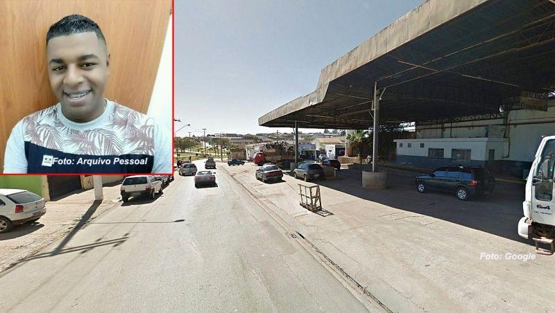 Gilberto foi visto pela última vez neste posto de combustíveis em Itapeva