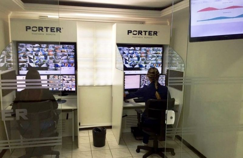 Base Operacional da Porter em Marília