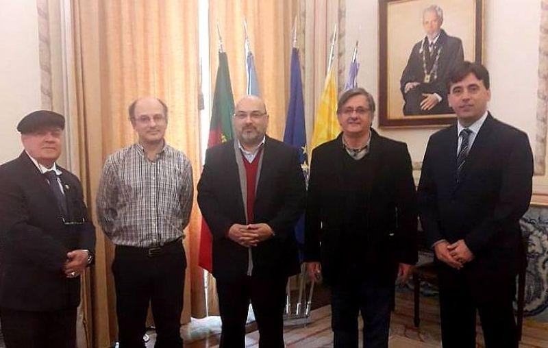 Evento faz parte do programa da visita realizada pelo Reitor do UNIVEM, Dr. Luiz Carlos de Macedo Soares e pelo Pró-reitor Prof. Dr. Elvis Fusco à Universidade Aberta de Portugal