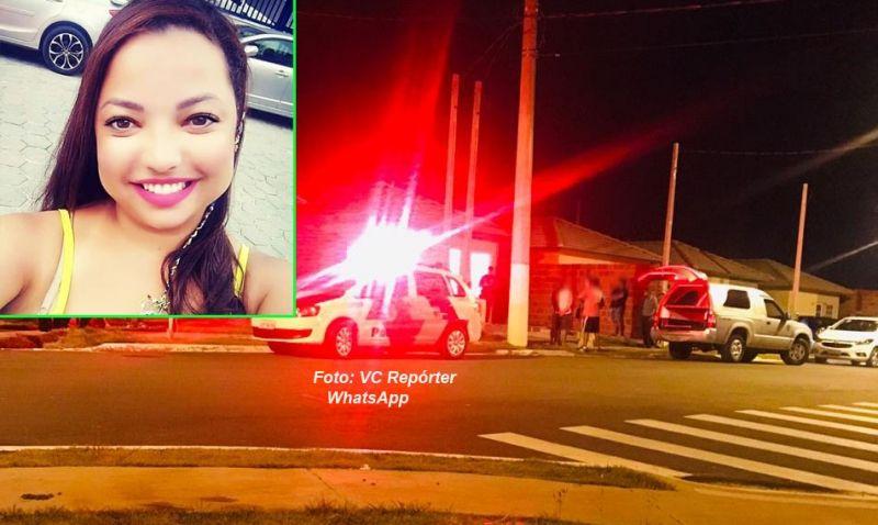 Corpo de Thuane Ramos dos Anjos foi encontrado ontem á noite na casa onde ela morava.