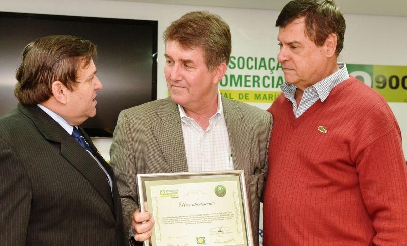 Em 2014, nos 80 anos de fundação da Acim, Marcos Rezende foi homenageado na época pela entidade