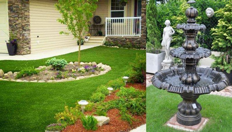 Fontes para jardim pequeno s o tend ncia em decora o for 40 nuevos disenos de pequenos jardines