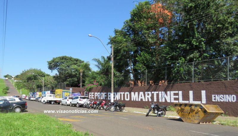 Em Marília, serão beneficiadas 14 escolas, como a Benito Martinelli, na zona norte.