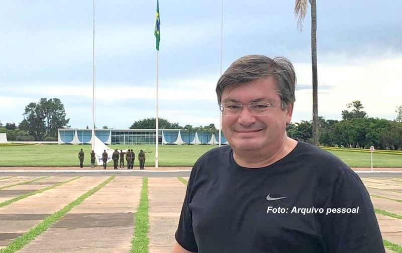 Prefeito Daniel já está em Brasília e hoje participará da posse do novo presidente.