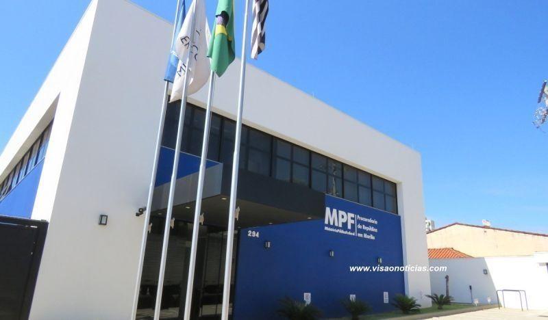 O MPF em Marília está localizado na rua Marecjal Deodoro, 294