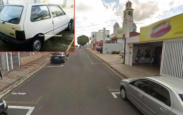 Vendedora tem carro furtado e mobiliza redes sociais