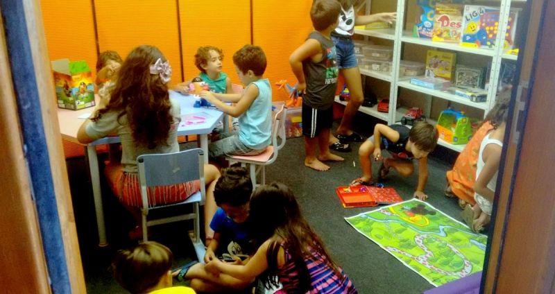 Muitas atividades estão programadas para as crianças nesta semana