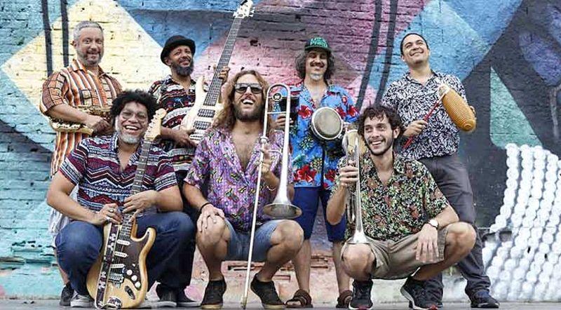 A banda Mango Mambo será um dos destaques do evento em Marília.