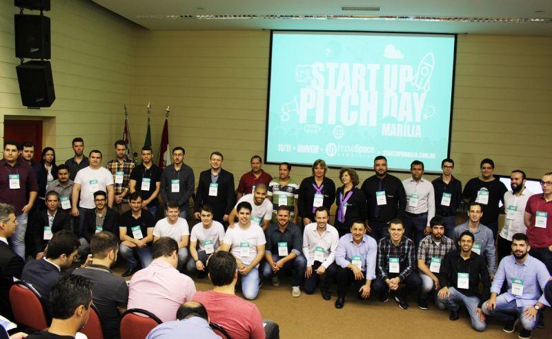 Ao todo 16 pitchers participaram da segunda edição do Marília Startup Pitch Day