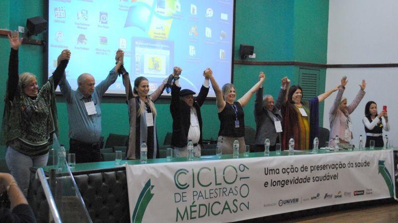 Ciclo de Palestras Médicas do UNIVEM envolve diversos setores da sociedade na promoção da qualidade de vida