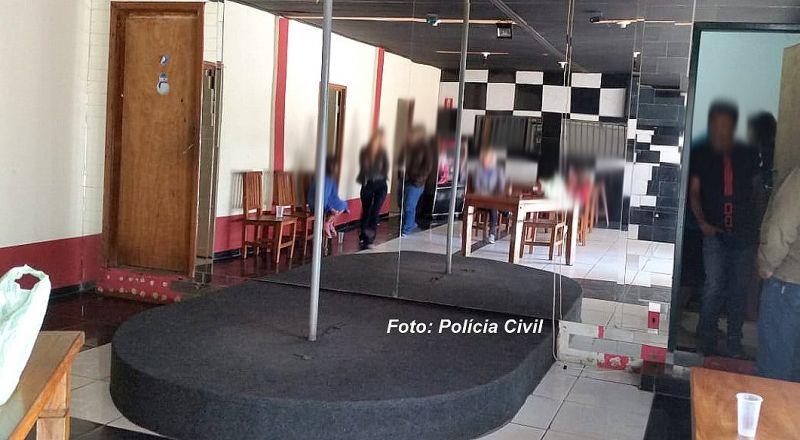 Operação da Polícia Civil foi realizada na chácara na zona leste.