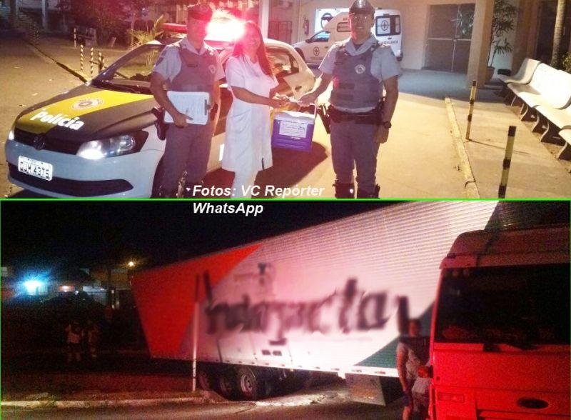 Missões diferentes na mesma noite para os patrulheiros rodoviários