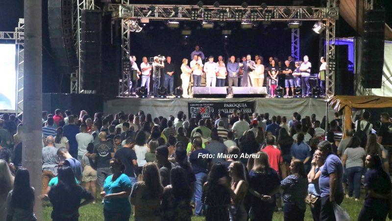 Entrega do Parque do Povo reuniu mais de 2 mil pessoas.