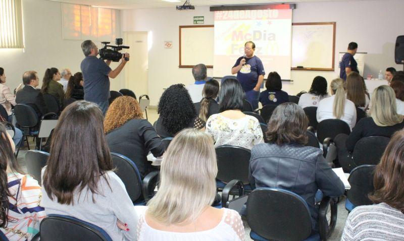 Todos os detalhes da campanha foram apresentados em Workshop