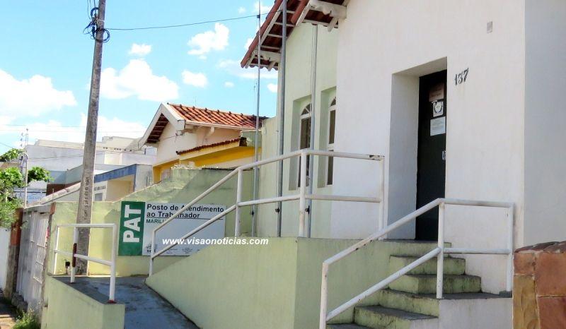 O PAT está localizado na rua Carlos Gomes 137, centro da cidade