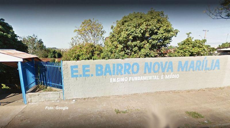 Escola onde a estudante passou mal e acabou morrendo.
