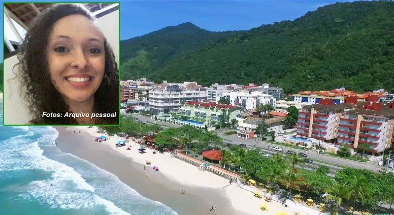 A universitária Vitória foi localizada em Praia Grande, litoral paulista