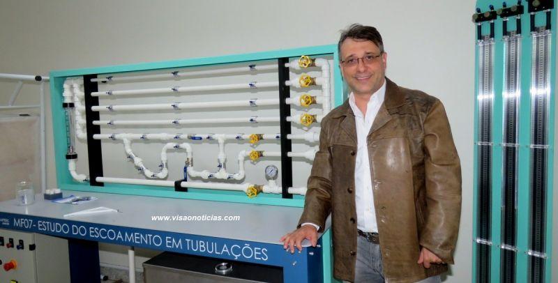 Professor Tercílio é o coordenador do curso de Engenharia da Faculdade Católica