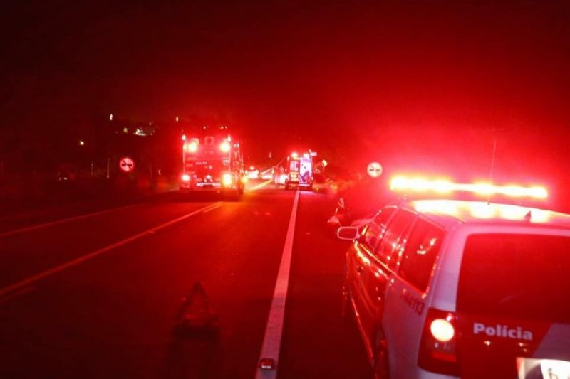 Acidente foi esta madrugada na rodovia Marechal Rondon.