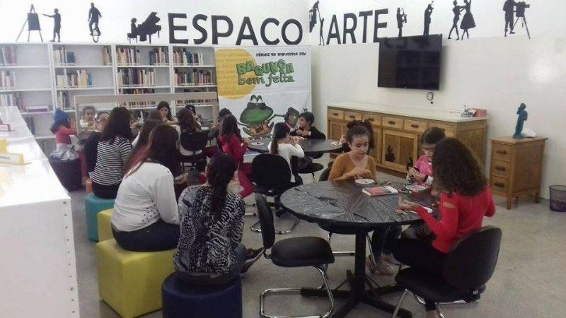 Atividades serão realizadas na Biblioteca Municipal e começam hoje