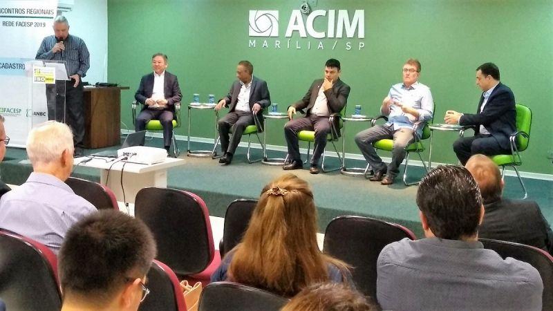 Evento reuniu lideranças no auditório da ACIM