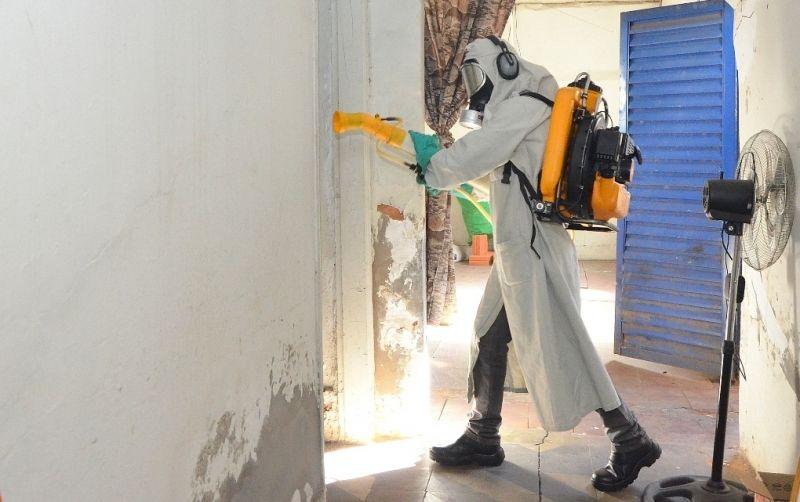 Nebulização e bloqueio de criadouros são algumas das ações da Saúde em Marília.