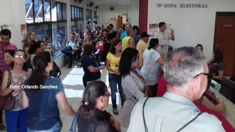 Cartório Eleitoral de Marília fará neste sábado mais um plantão especial. No último, teve filas