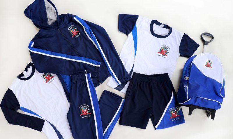 Novos uniformes escolares começam a ser distribuídos a partir de hoje na rede municipal.