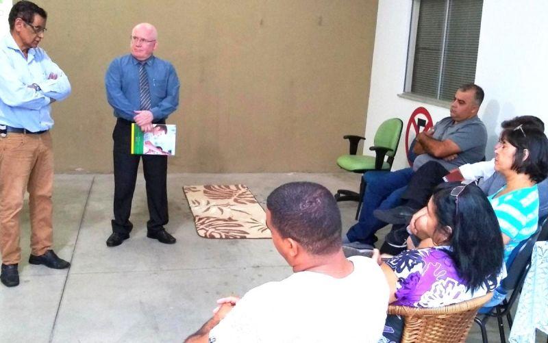 Diretoria da ACIM reunida com lojistas da zona sul