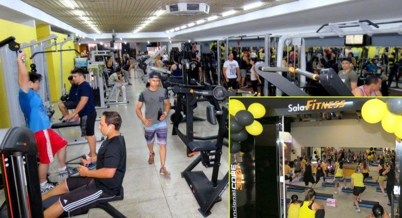 Academia passa a contar com cerca de 1.000m2, novos equipamentos e sala Fitness (detalhe)