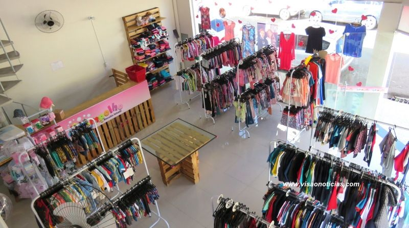 Lojas de vestuário tiveram um crescimento de 3,7% nas vendas.