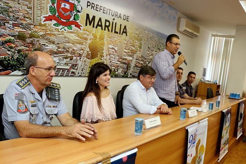 Capitão Augusto destacou a importância das emendas para Marília.