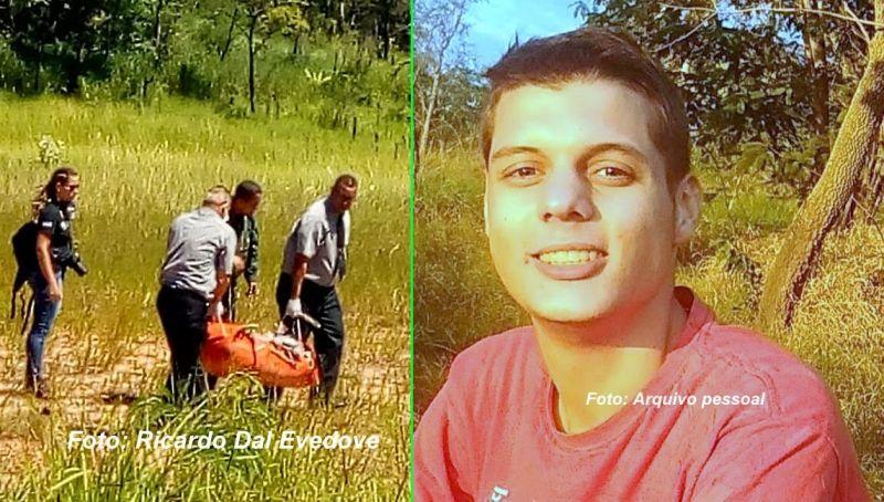 Corpo do rapaz foi resgatado do penhasco após três dias de desaparecimento