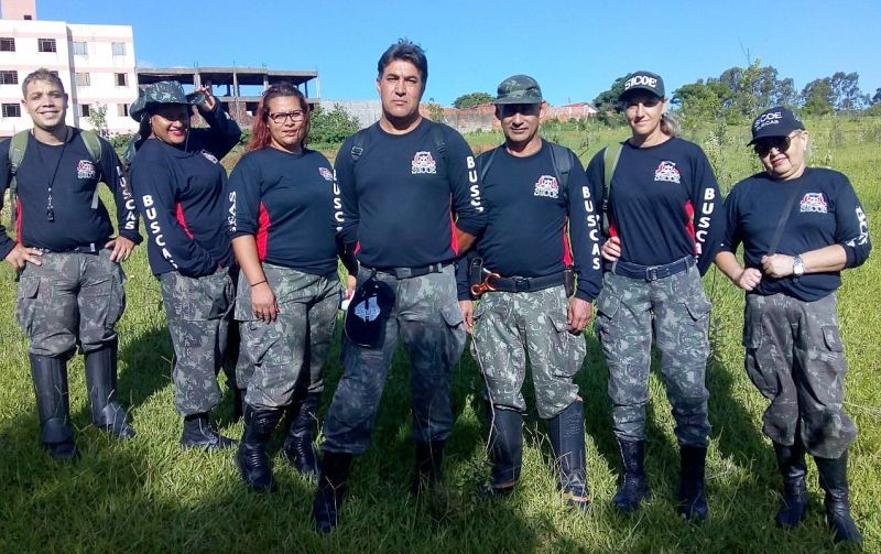 Voluntários do SICOE: missão especial agora em Brumadinho.