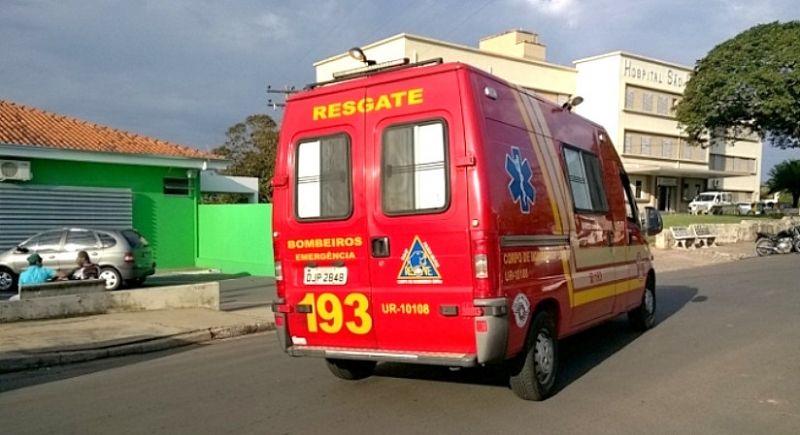 A criança foi socorrida pelo resgate à UPA de Garça.