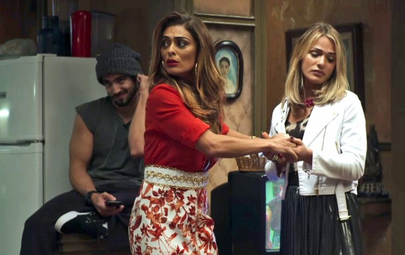 Glamour Garcia contracena com Juliana Paes na novela