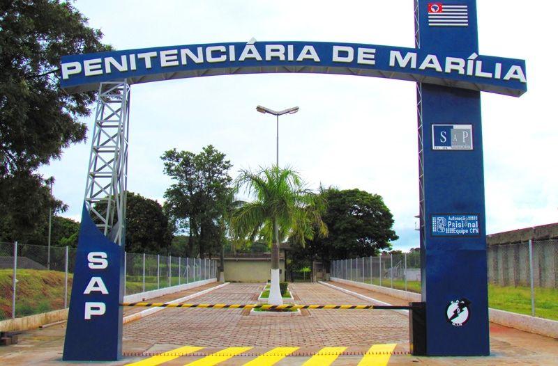 """Os dois foragidos foram recolhidos ao sistema """"fechado"""" da penitenciária de Marília"""