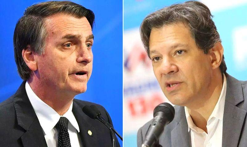 Bolsonaro e Hadad falam sobre suas propostas sobre o SUS.