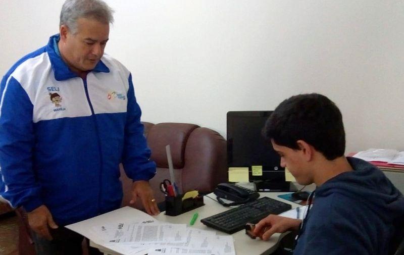 Secretário Eduardo Nascimento protocola ofício de intenções para Marília sediar os Jogos Abertos do Interior em 2018 e 2019