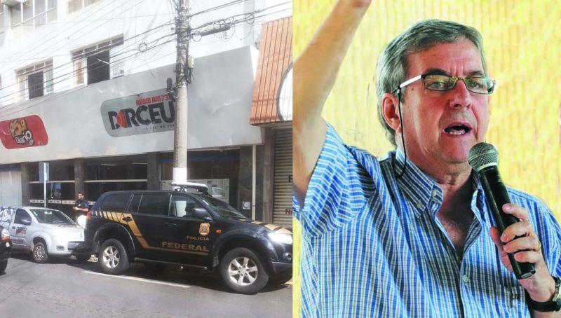 """Deputado Abelardo Camarinha ataca os """"responsáveis"""" pela operação da PF."""