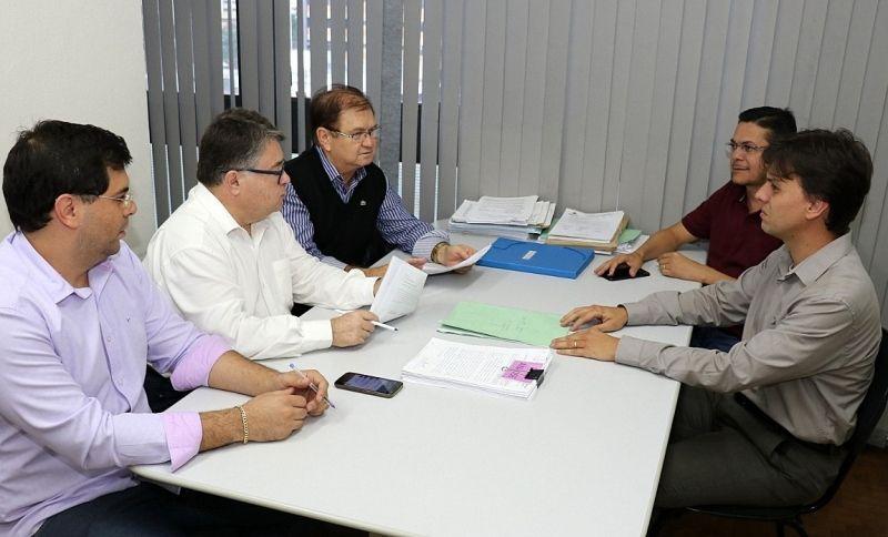 Integrantes do Comitê Gestor de Despesas da Prefeitura.
