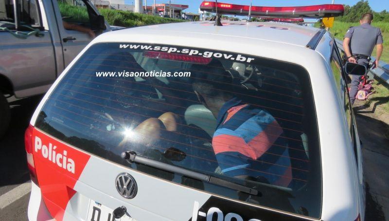 Casal saiu de Jaú para praticar furtos em Marília. Acabou preso.