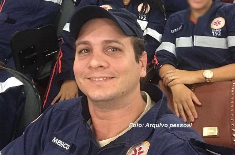 Marcelo era médico do SAMU desde 2013. Colegas lamentaram a morte.