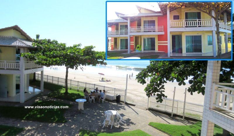 O AguaMar Residence está localizado em frente ao mar, em Itapoá (SC)