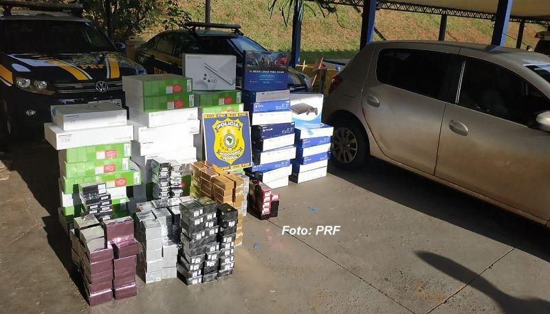 Material foi apreendido e entregue da PF em Marília.