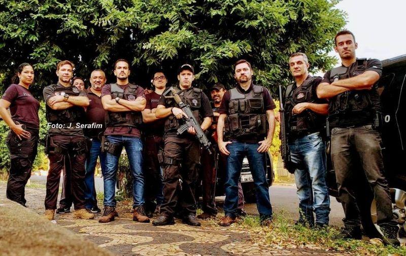 Policiais civis das três delegacias especializadas envolvidas na operação.