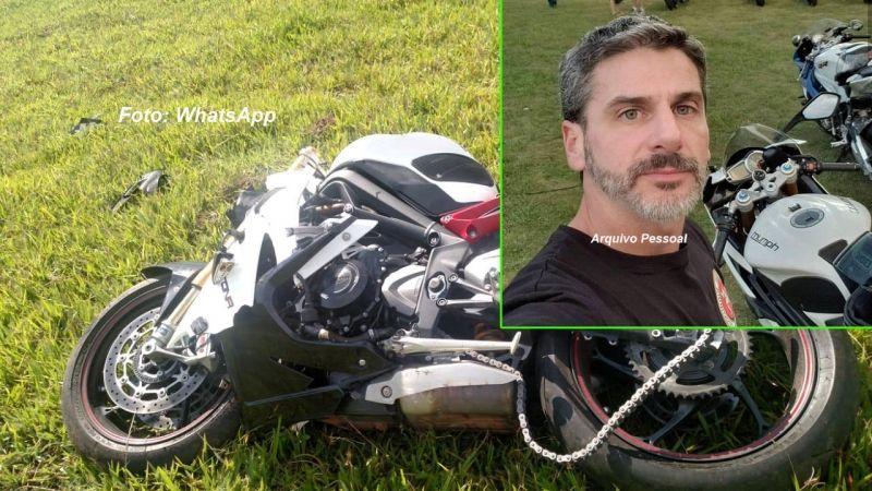 Fernando morreu depois de perder o controle da motocicleta na SP-294