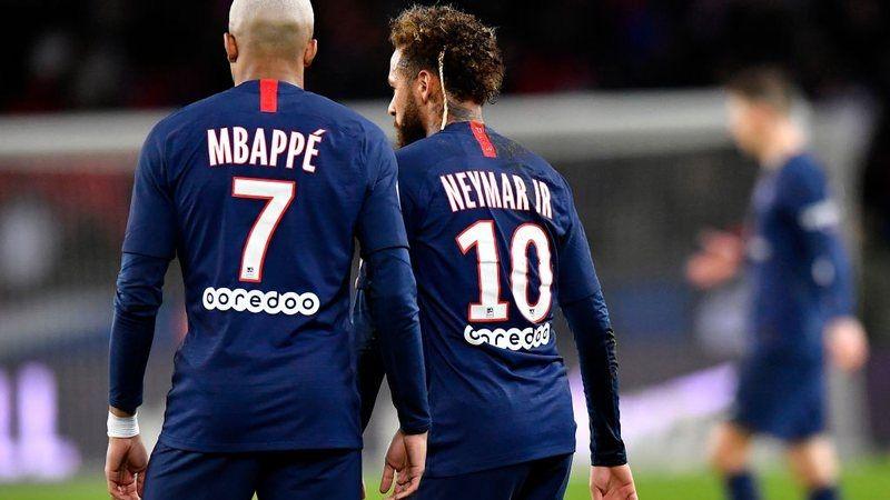 Neymar disse que gostaria de jogar ao lado de Mbappé
